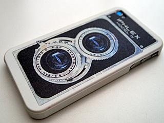 iPhone 4用のプロテクトカバー、IPHLEX MODEL IV